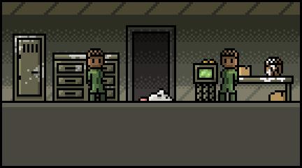 Send rat through the first door