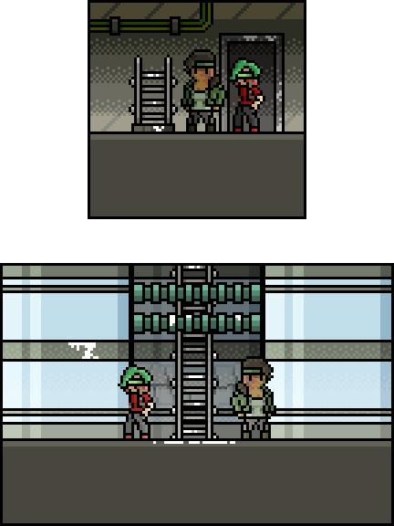 Peek at the basement