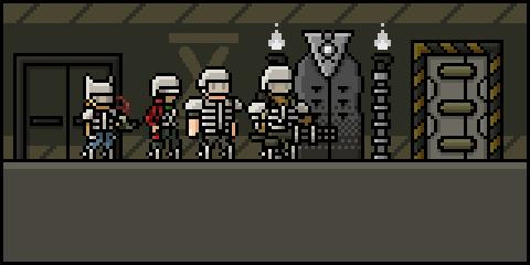 Begin floor 0 of Bunker X