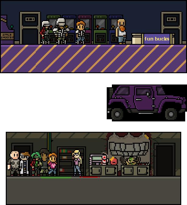Check the arcade